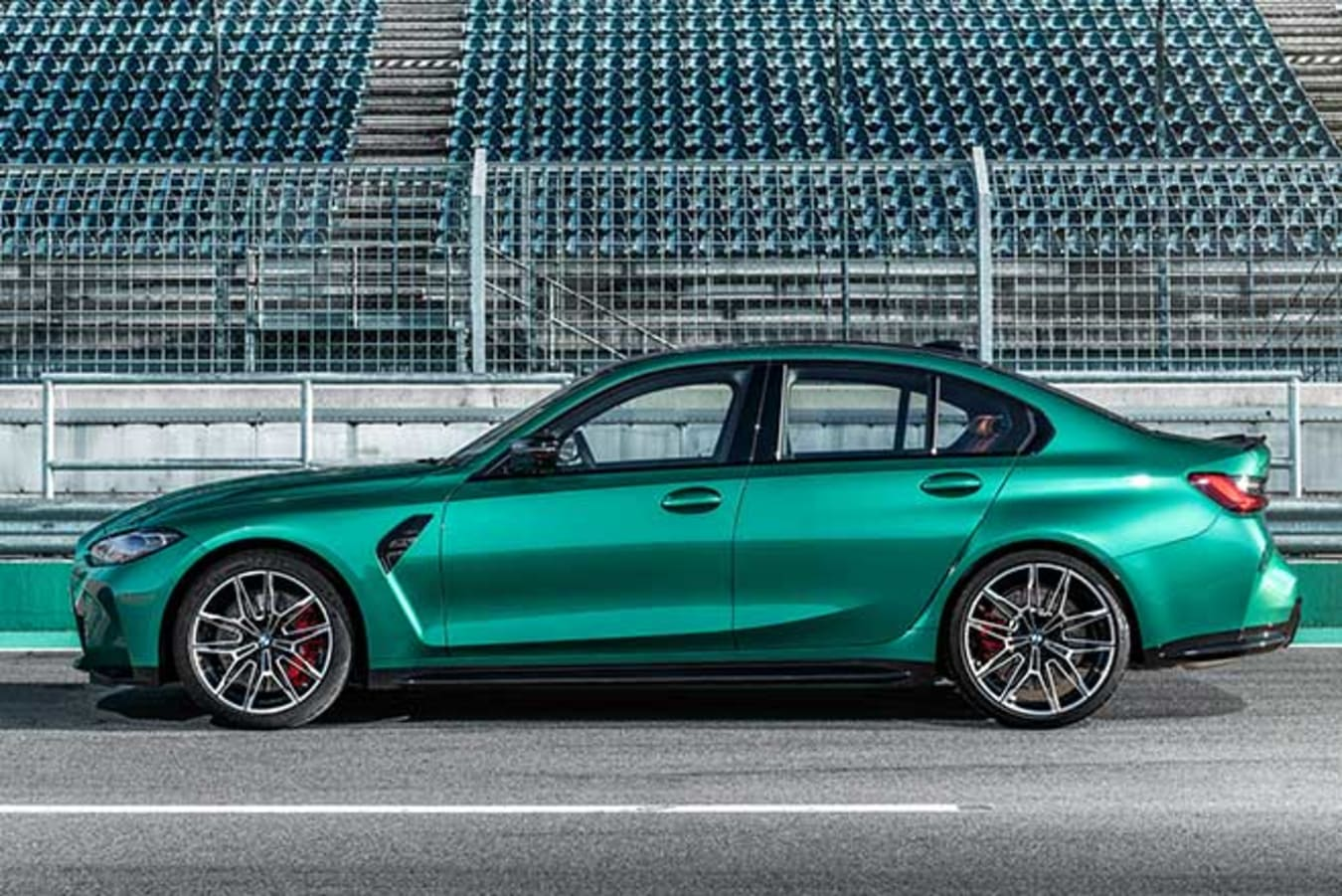 2021 BMW M3 Competition is 170kg heavier than its predecessor.
