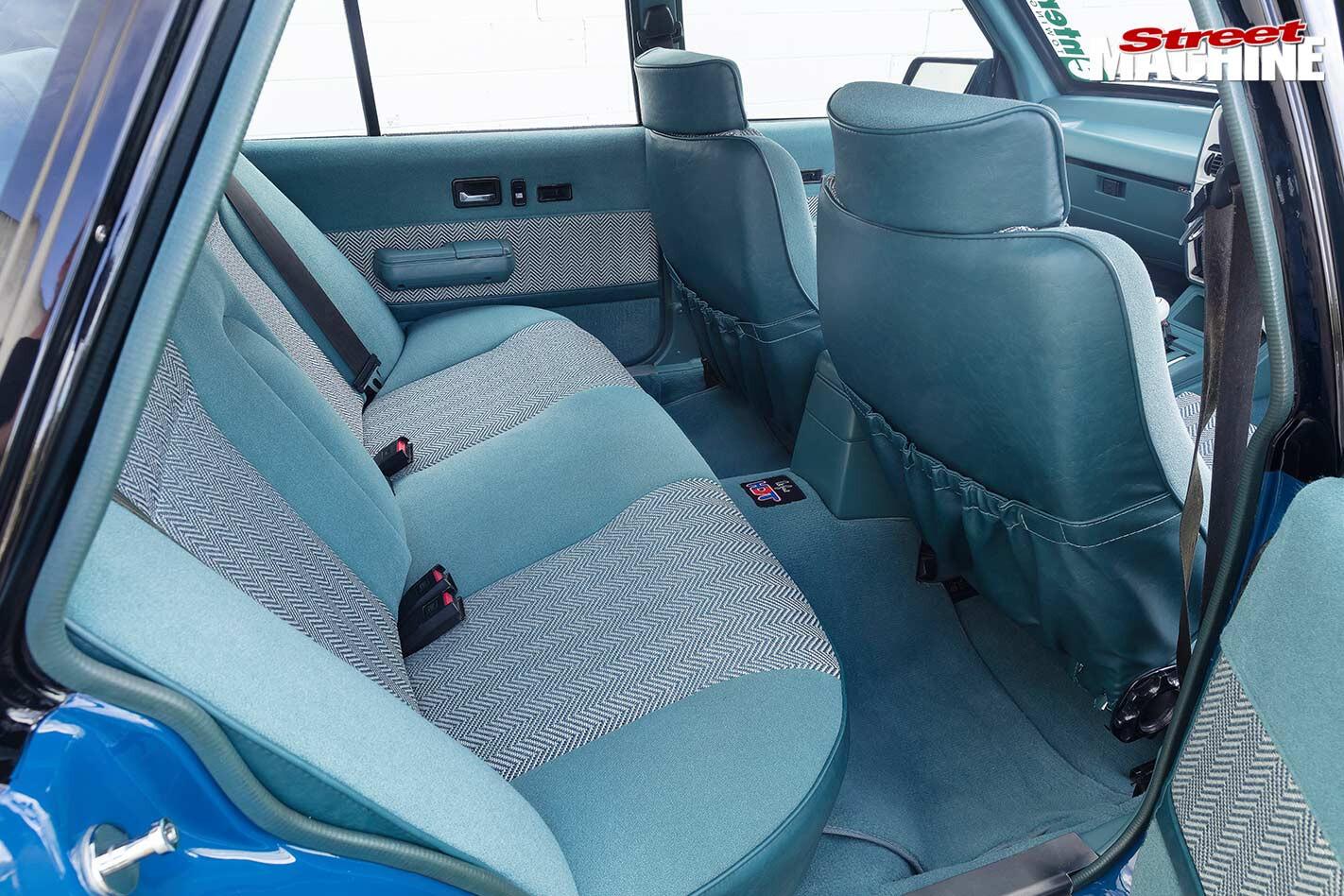 Holden VK Calais SS Group A replica interior rear
