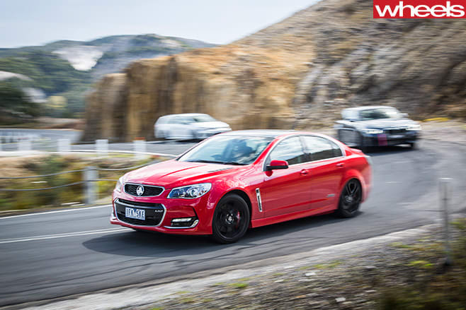 Holden -Commodore -SS-V-on -Spirit -of -Tasmania -front -group