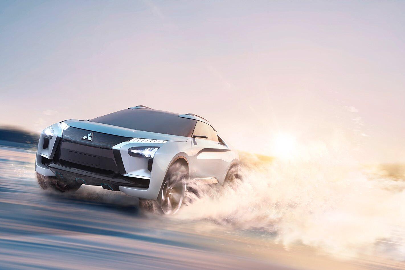 2017 Tokyo Motor Show Mitsubishi e-Evolution concept revealed