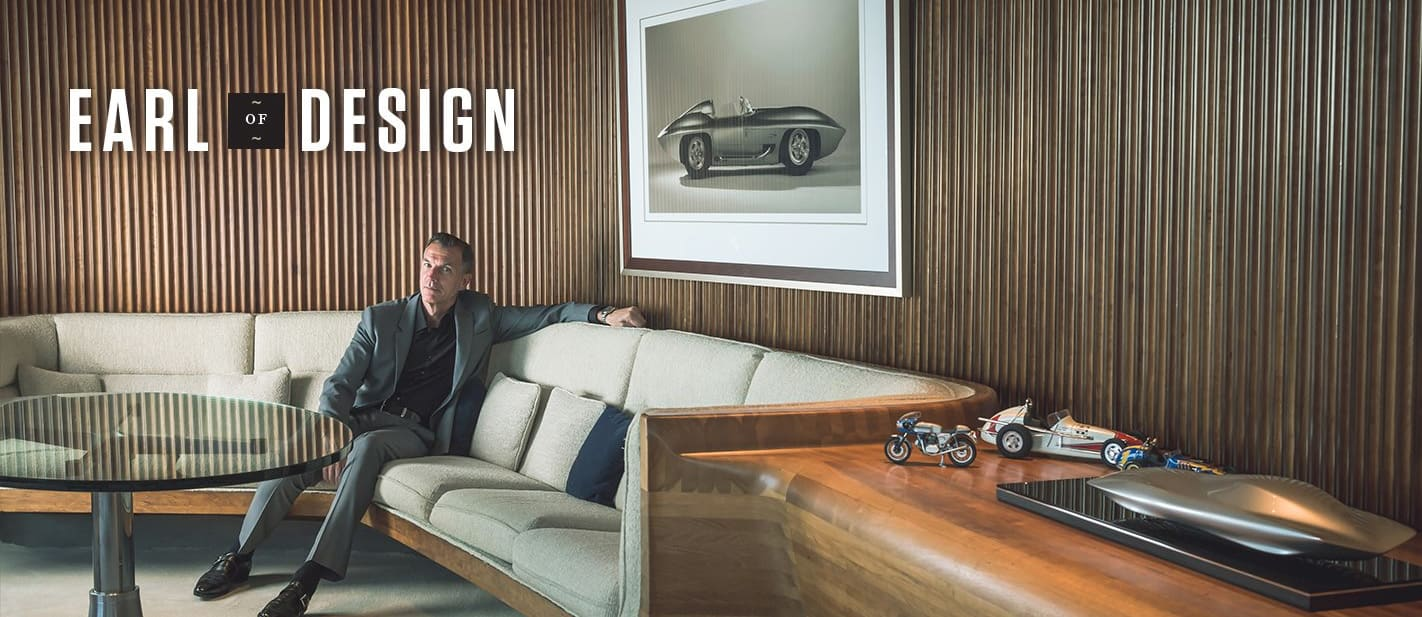 Earl of Design - Step inside Mike Simcoe's office