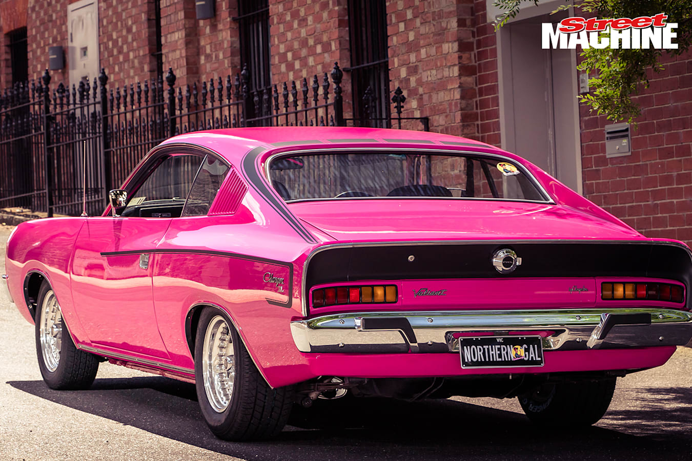 Chrysler Valiant Charger XL Pink 6 Nw Jpg