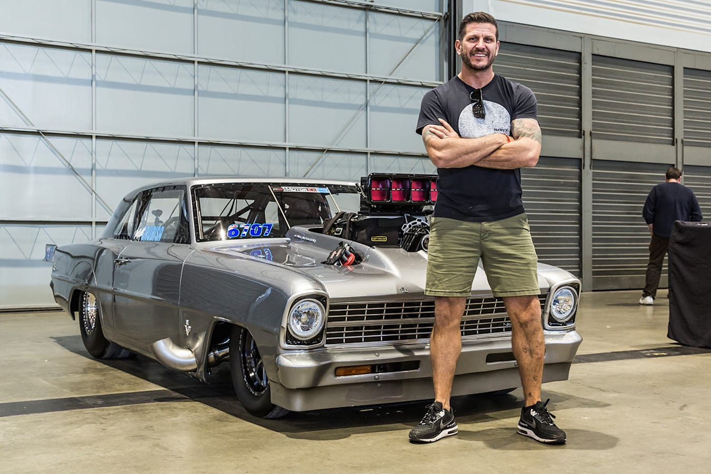 Hemi-powered Chevy Nova