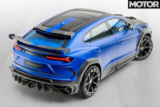 Mansory Lamborghini Urus Top Rear Jpg