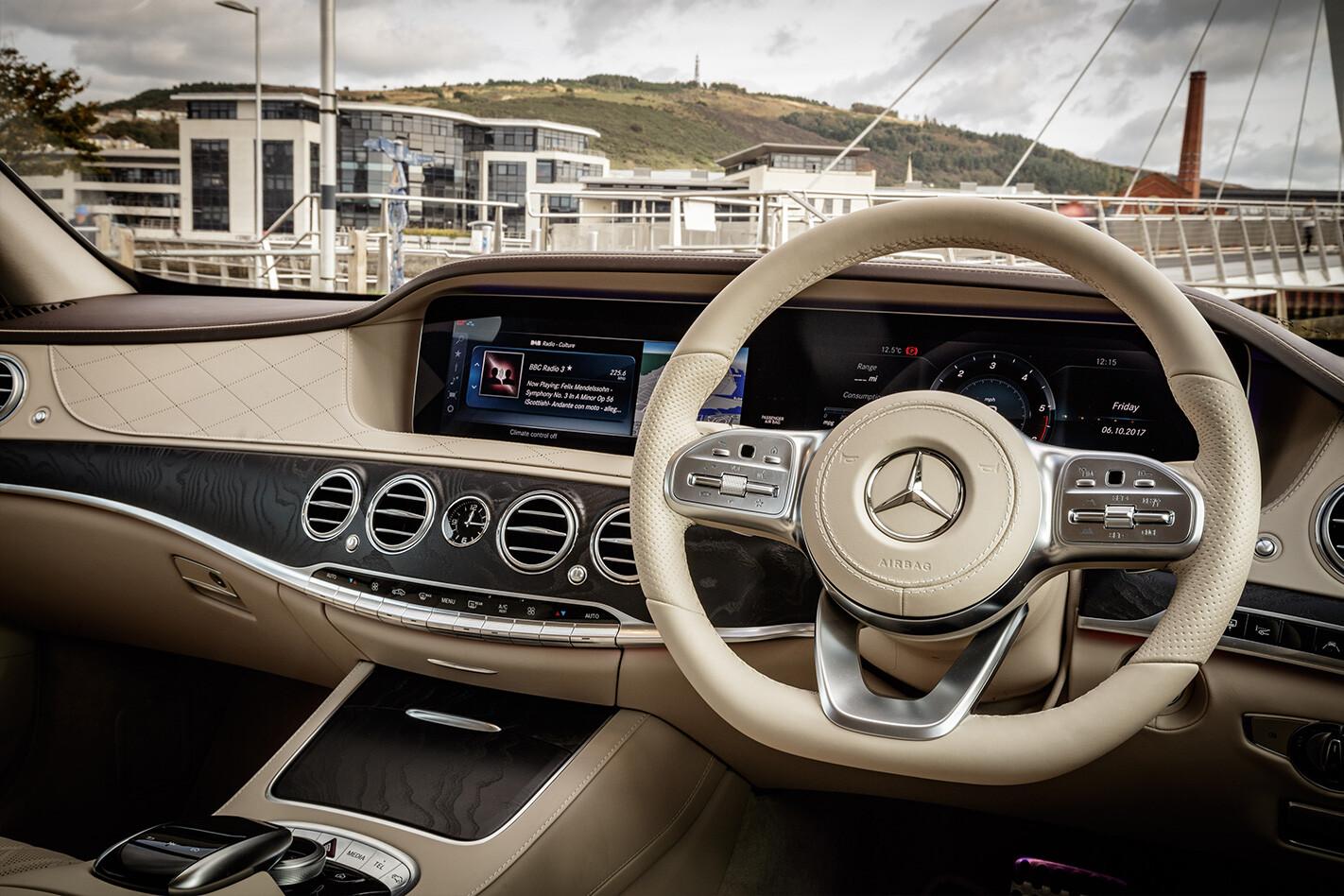 Mercedes Interior Dashboard Jpg
