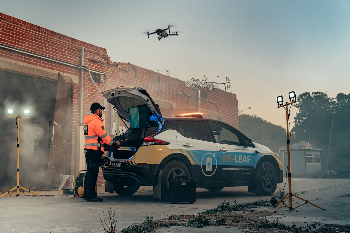 Nissan RE-LEAF DRONE