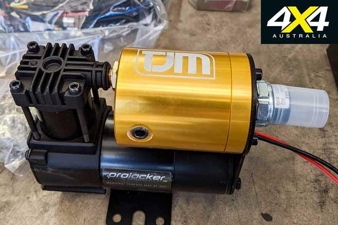 Toyota Hilux Budget Tourer Build TJM Prolocker Air Compressor Jpg
