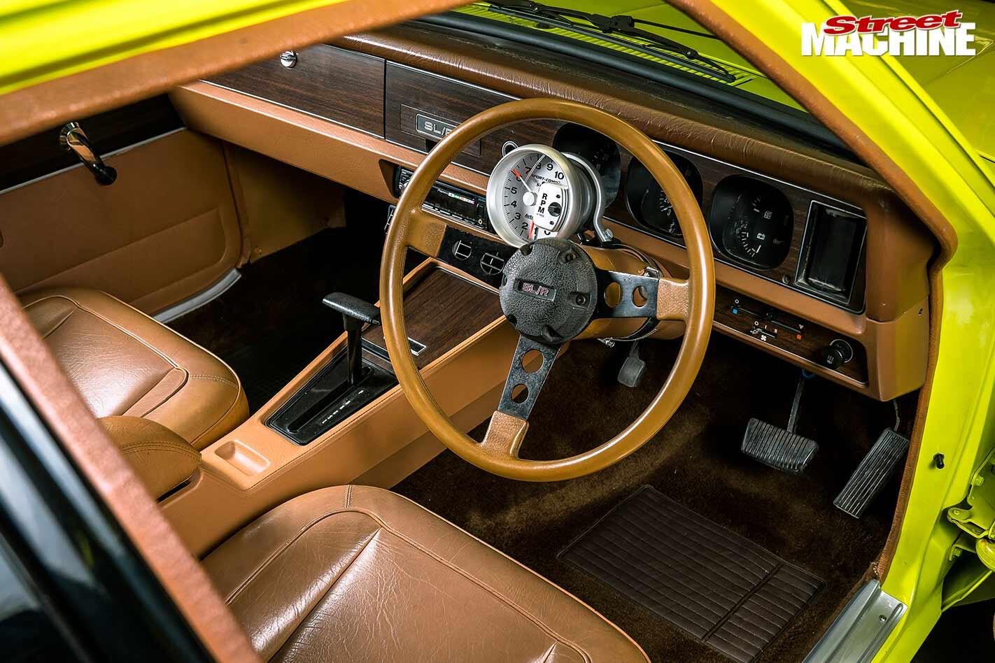Holden LH Torana interior