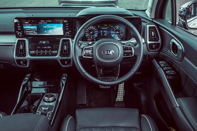 Kia Sorento GT-Line interior