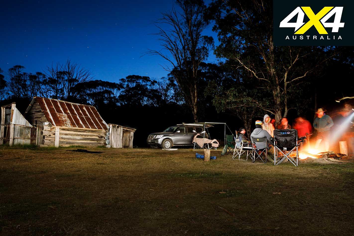 Victorian High Country 4 X 4 Adventure Series Night Campfire Jpg