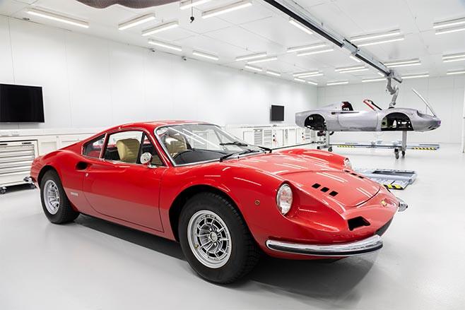 1976 Ferrari Dino at Zagame Autobody Bespoke