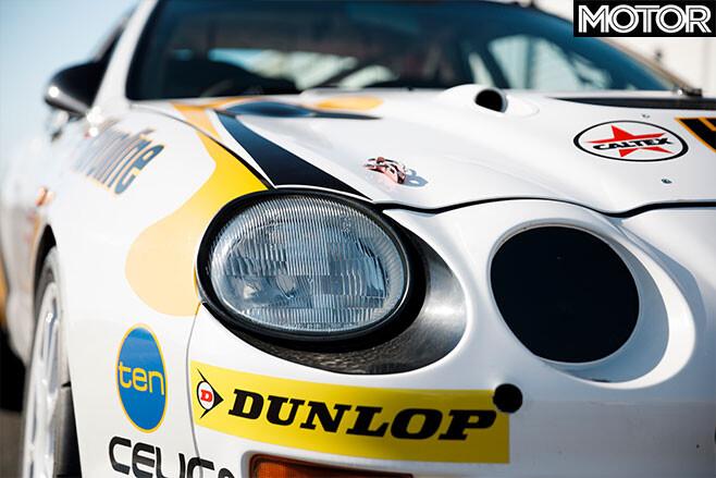 Bates Toyota Celica GT-Four rally car headlights