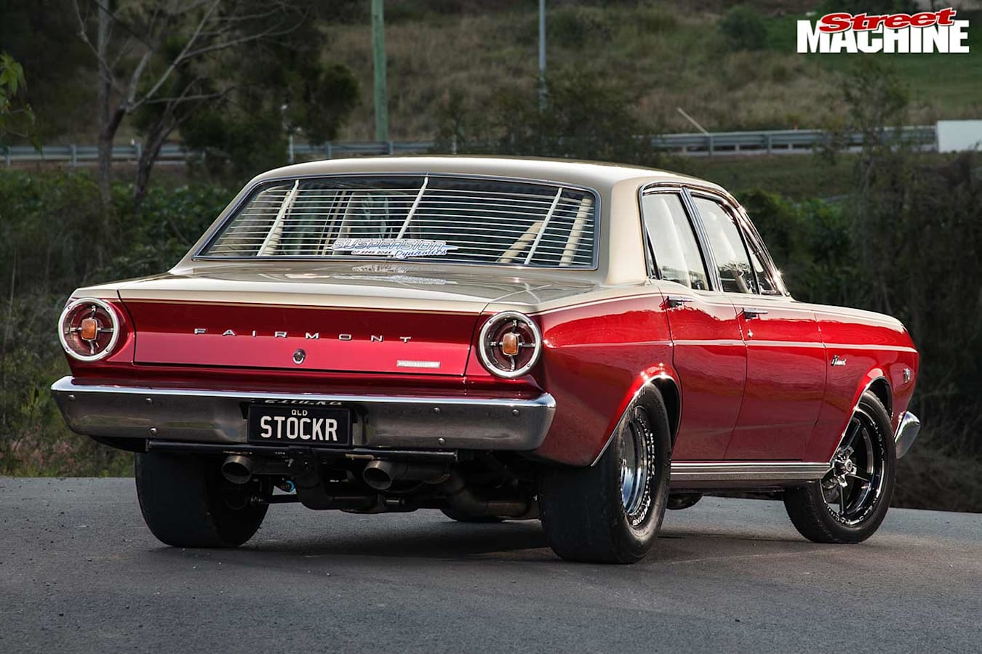 Ford XR Fairmont rear