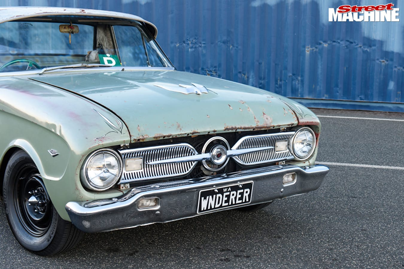 Ford Falcon XM grille