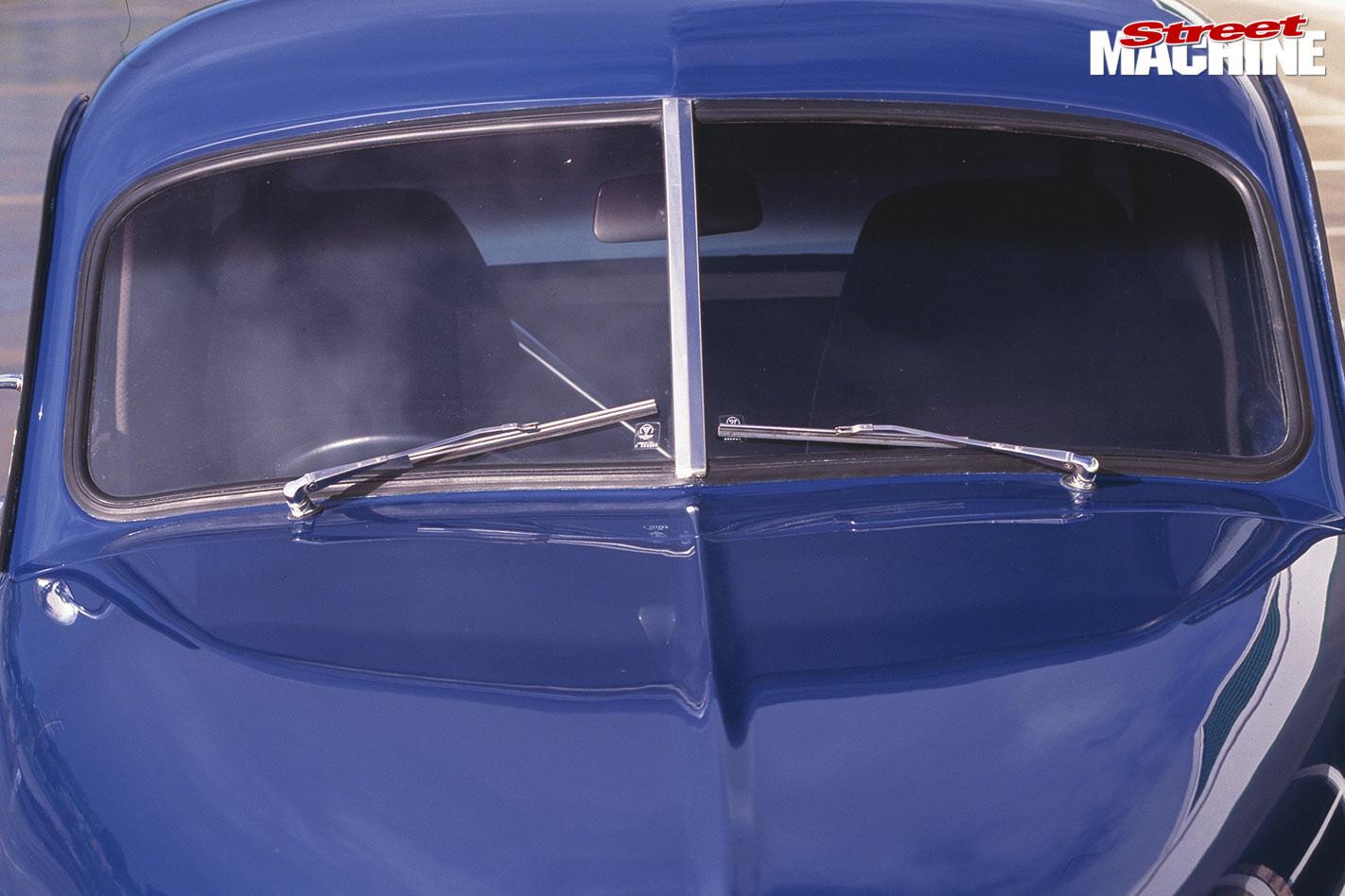 Holden FJ ute windscreen