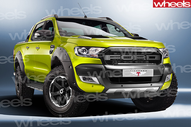 Tickford -Ford -Ranger -comgen