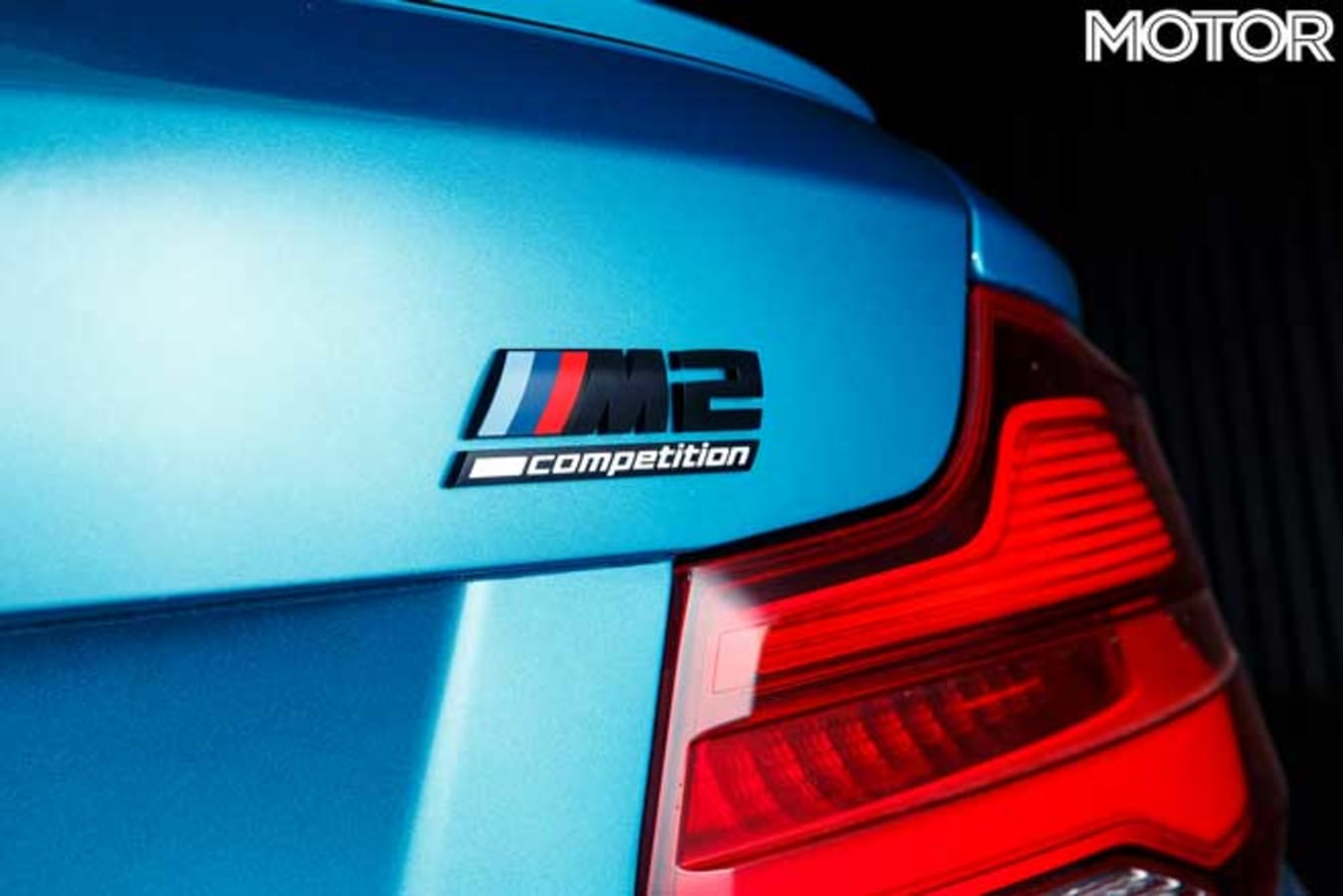 2019 BMW M 2 Competition Pure Track Review Bang For Your Bucks 2019 Rear Badge Jpg