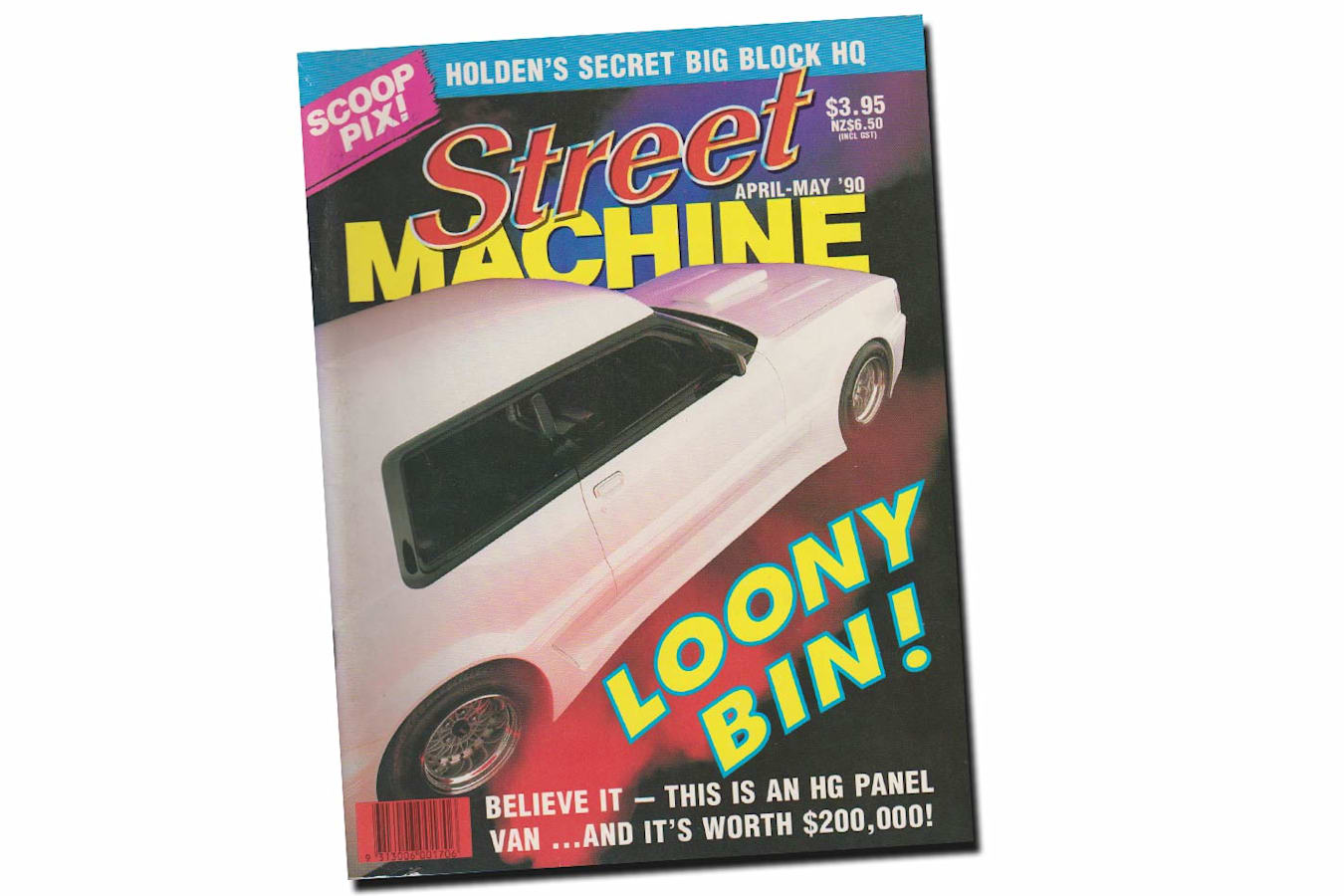 April May 1990 Street Machine cover