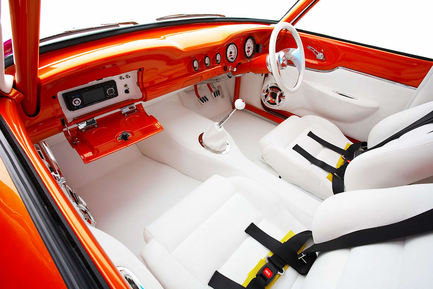 Ford Falcon sedan delivery interior front