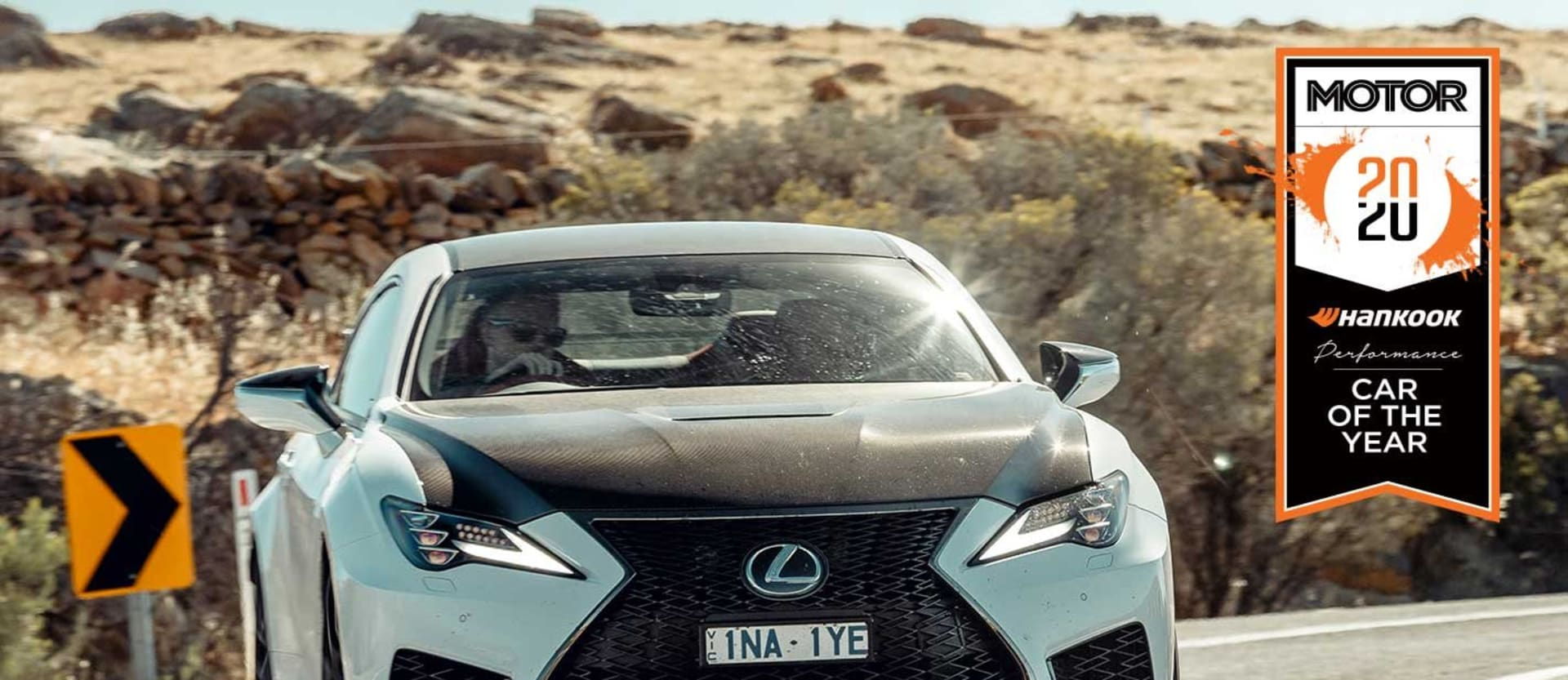 Lexus RC F Track Edition Performance Car of the Year 2020 results