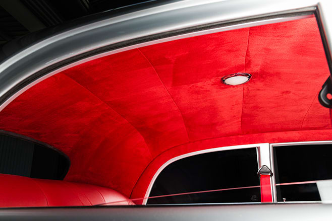 Holden FJ roof lining