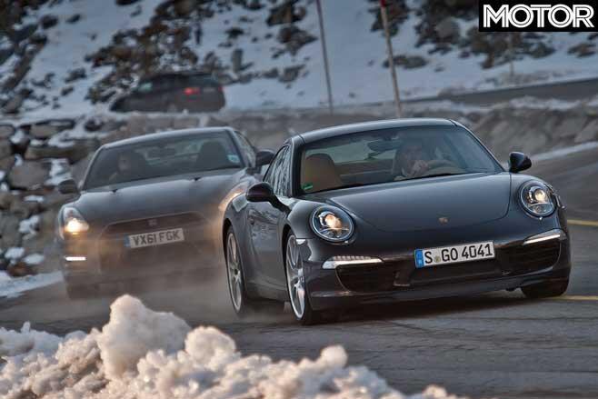 2012 Porsche 911 Vs Nissan GT R Comparison Jpg