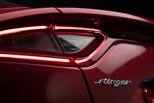 2018 Kia Stinger GT rear lights