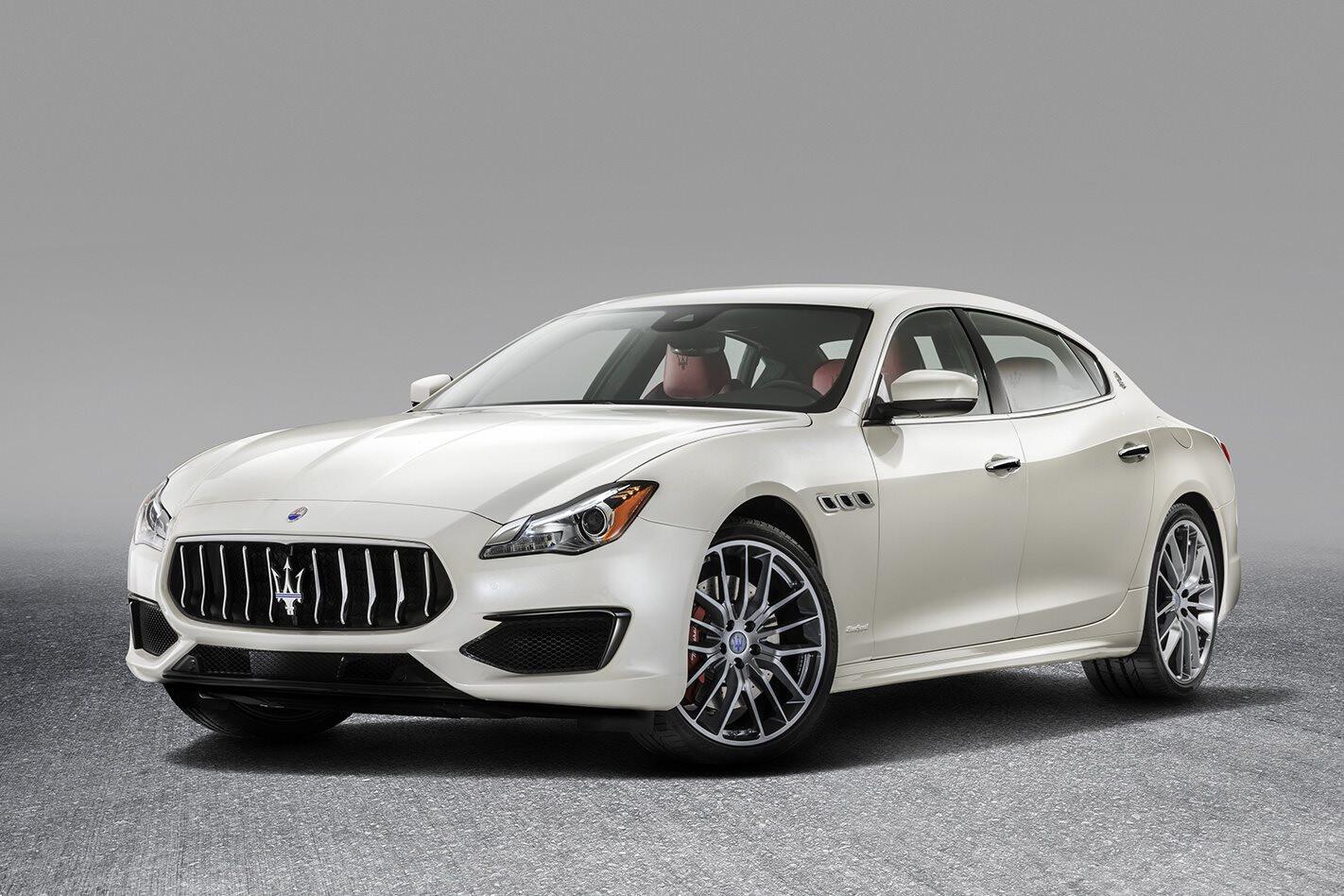 Maserati Quattroporte White Jpg