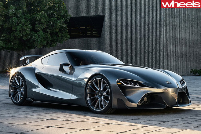 Toyota -Supra -front -side