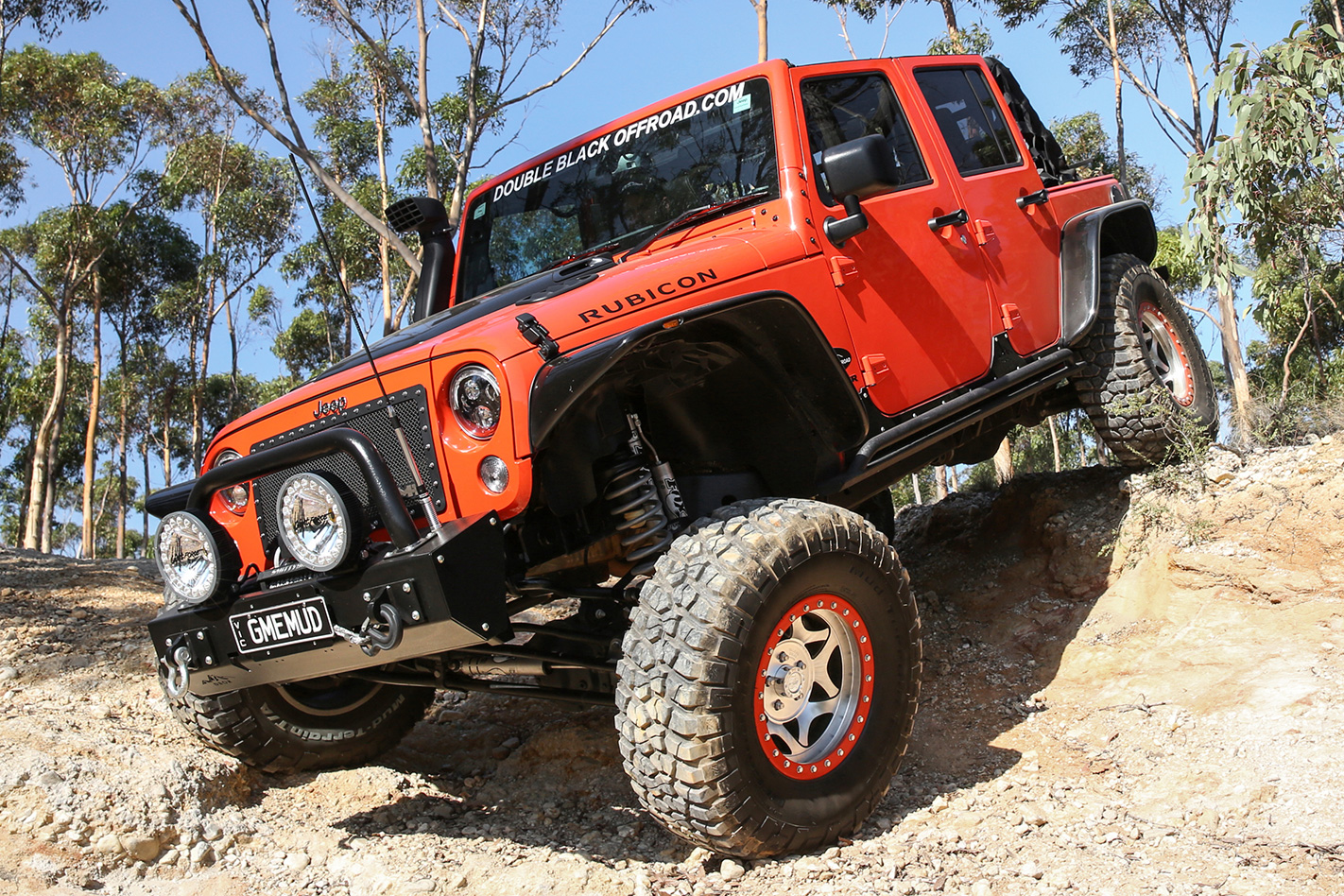 2015 Jeep JK Unlimited Wrangler Rubicon video offroad