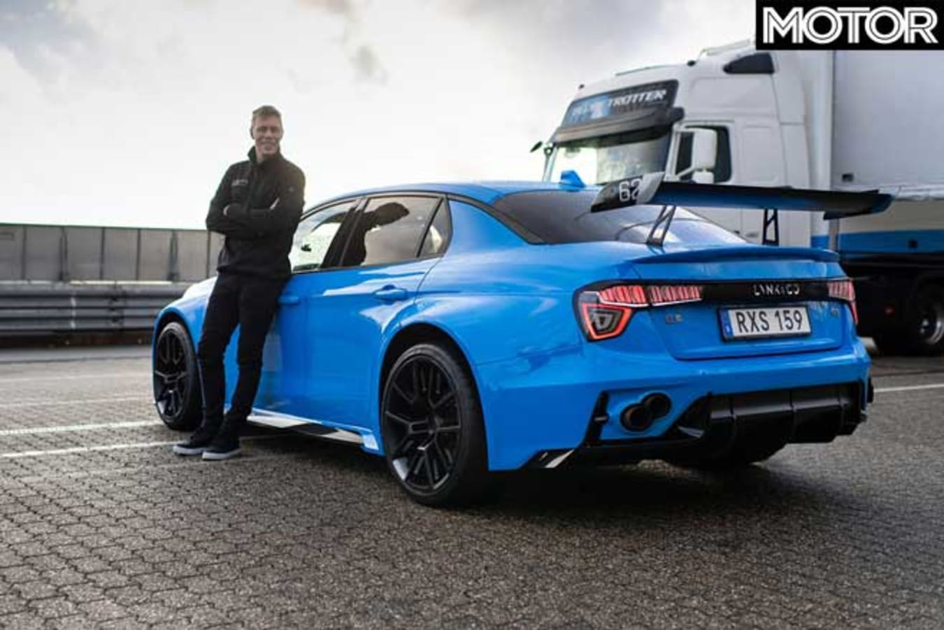 Lynk Co 03 Cyan Concept FWD Nurburgring Record Thed Bjork Jpg