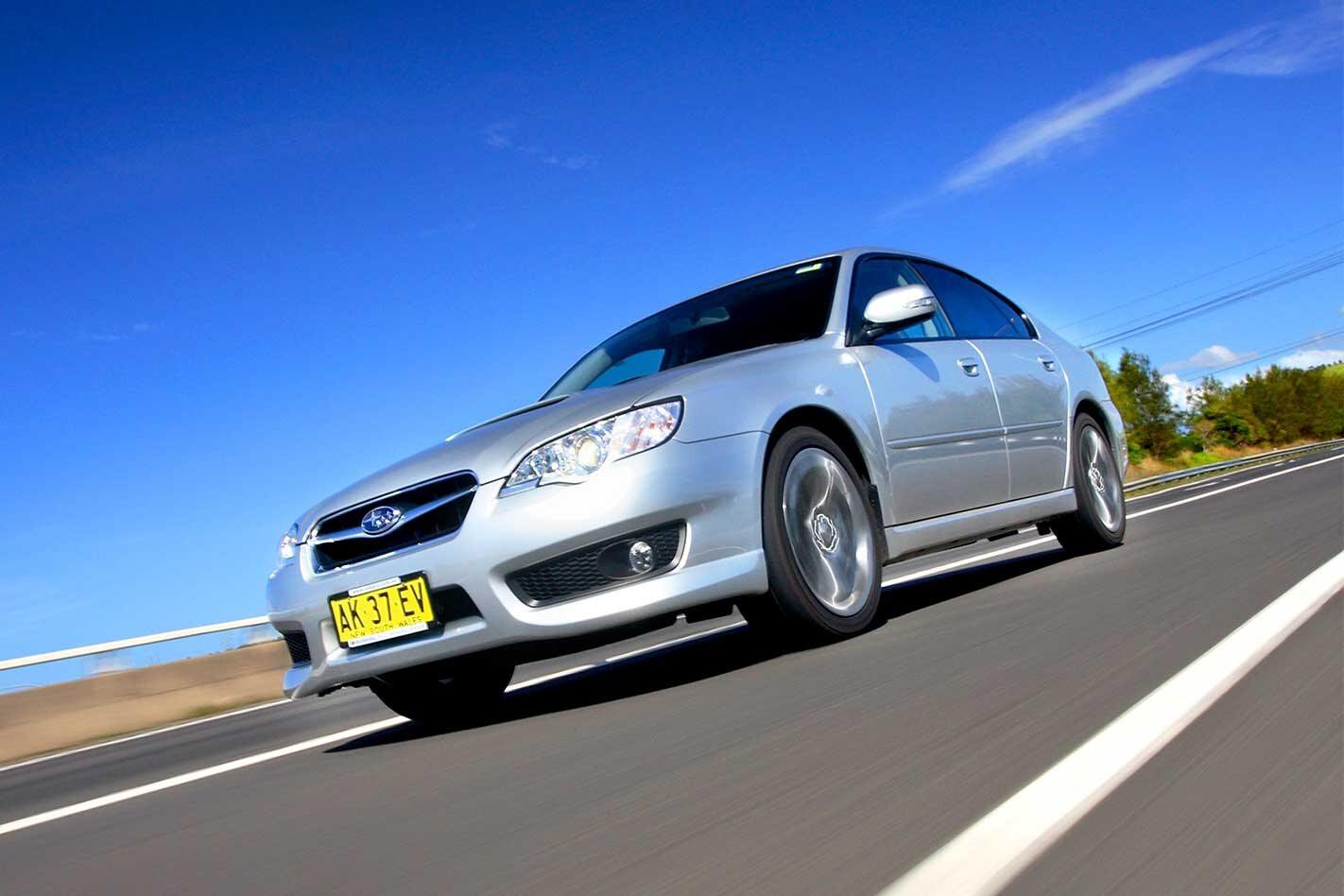 2007 Subaru Liberty GT Spec B review