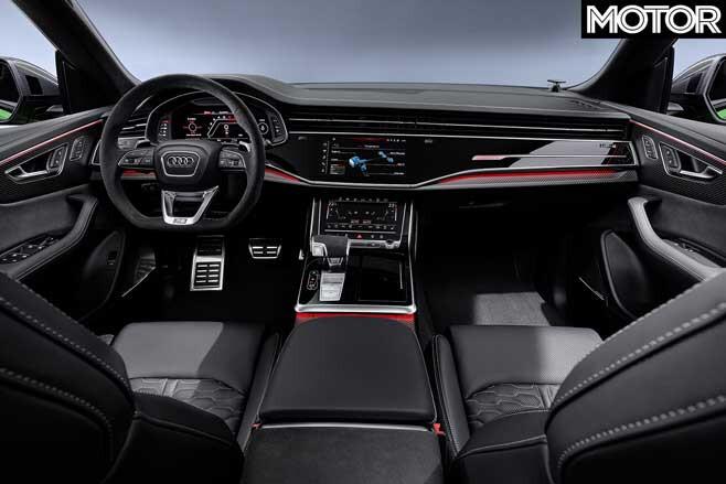 Audi RS Q 8 Interior Jpg