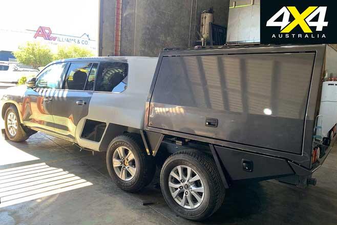 MSA 4 X 4 Custom Toyota LC 200 6 X 6 Project Super Crusier Build Jpg