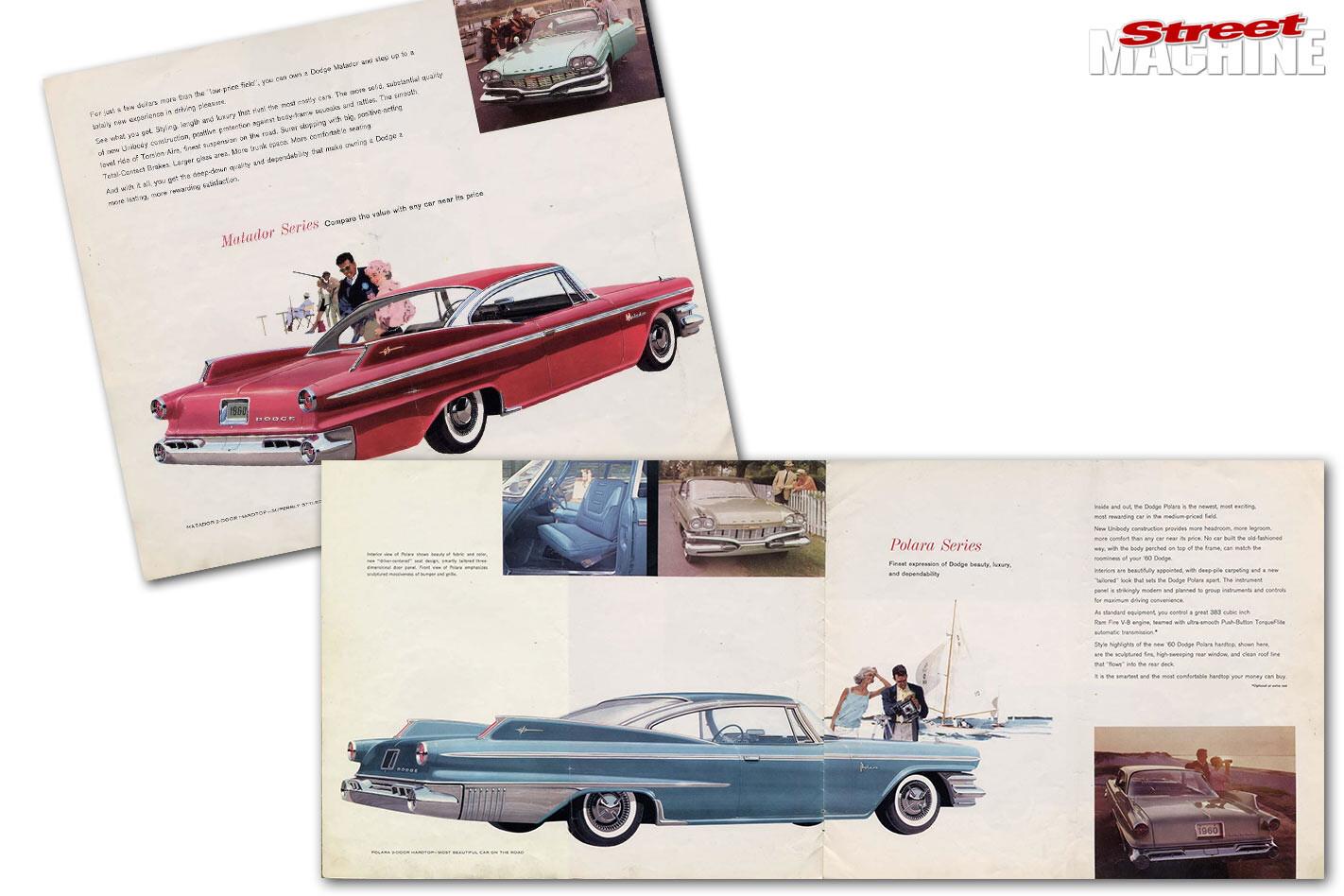Dodge Dart brochures