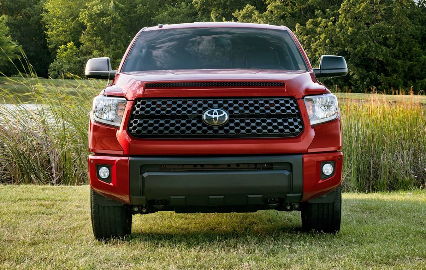 Toyota Tundra front