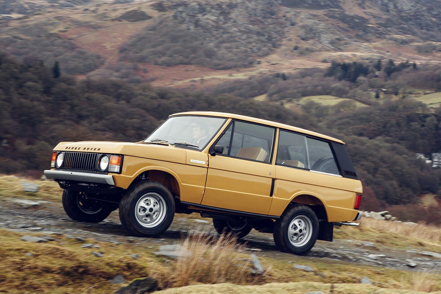 Range Rover Reborn program debuts