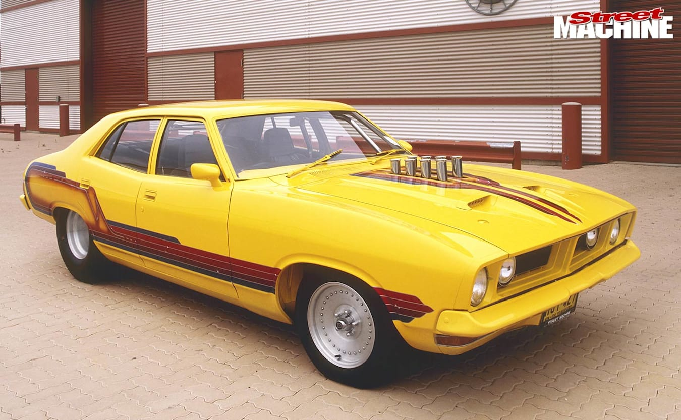 Ford XB Falcon before