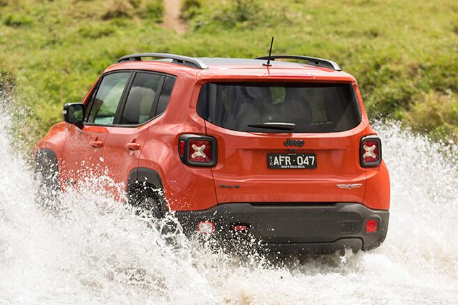Jeep Renegade Rear