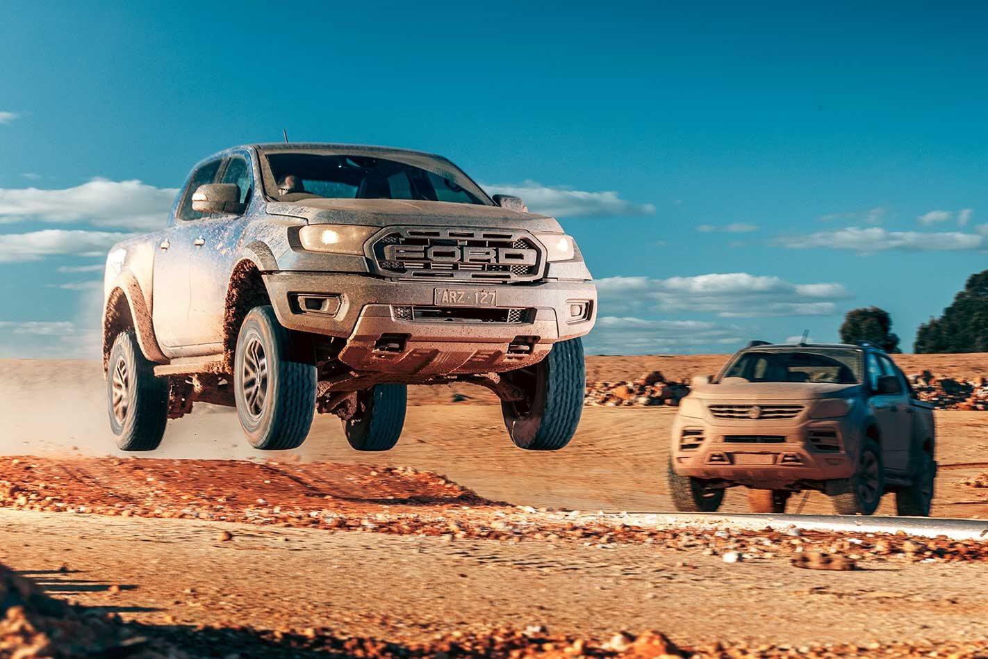 2018 Ford Ranger Raptor vs HSV SportsCat performance comparison review