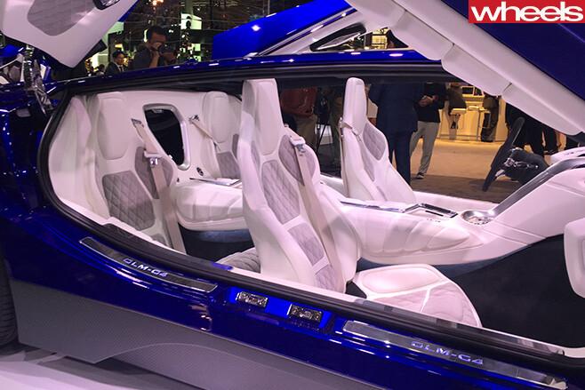 GLM-400kw -Japanese -supercar -seats