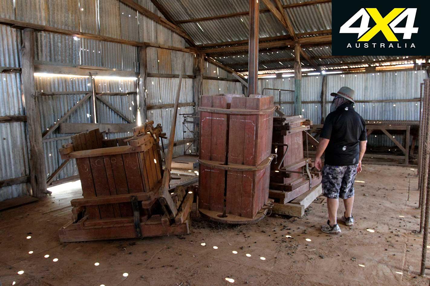 4 X 4 Trip Through The Tibooburra Gorge Loop Drive NSW Shearing Shed Jpg