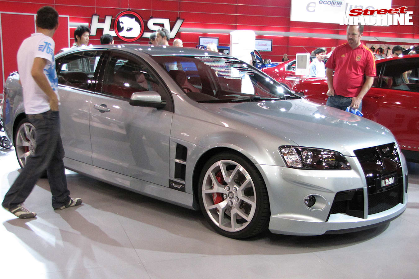 HSV W427 at the motorshow