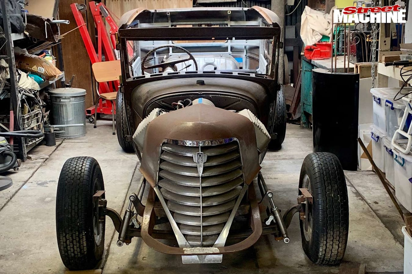 1929 Ford Tudor project front