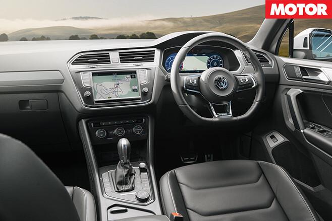 2017 VW Tiguan 162TSI interior