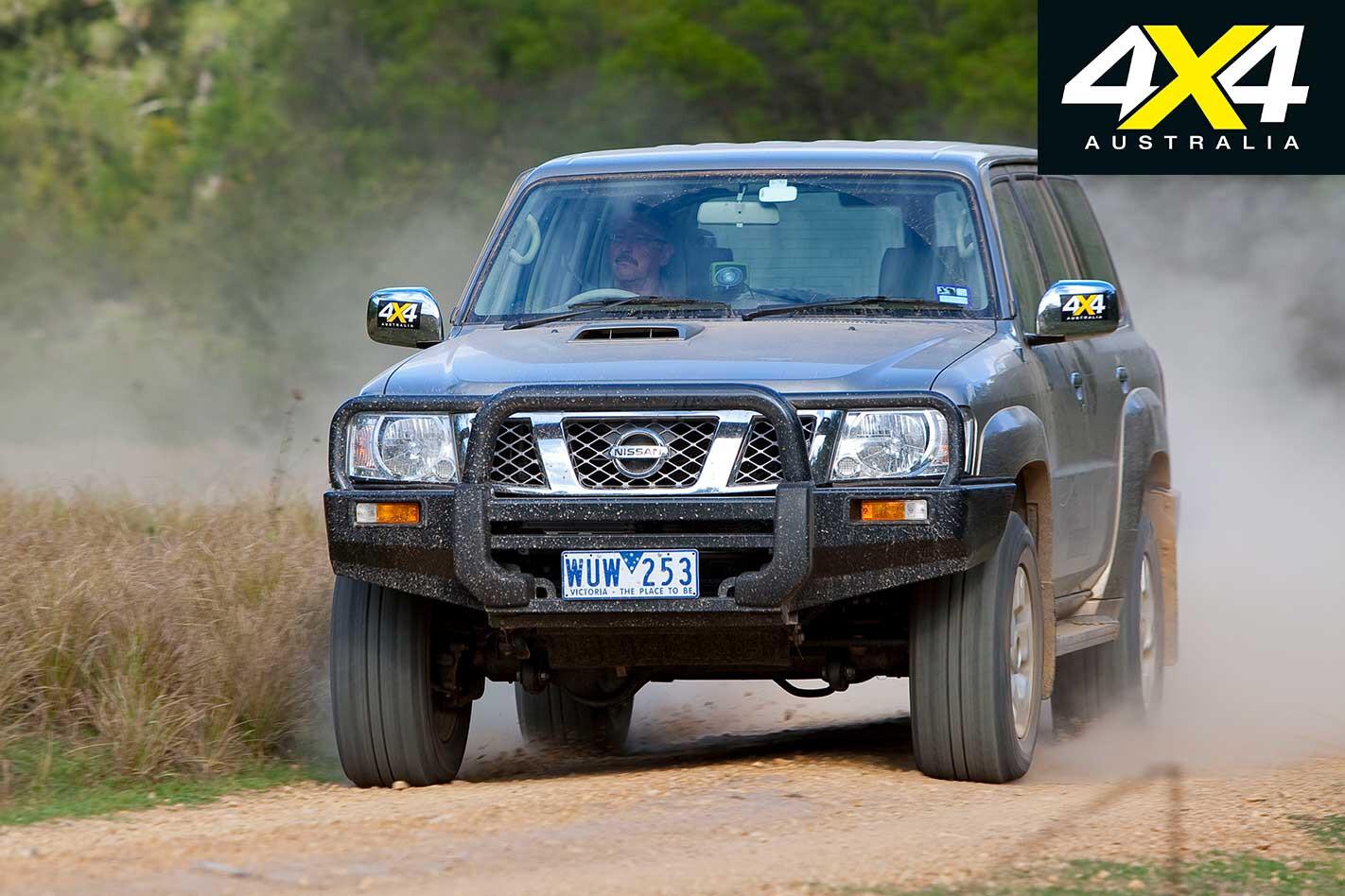 2009 Nissan GU Patrol On Road Drive Jpg