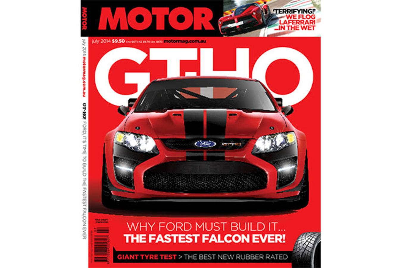 MOTOR July 2014 cover