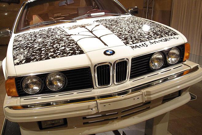 1986 BMW 635 CSi by Robert Rauschenberg