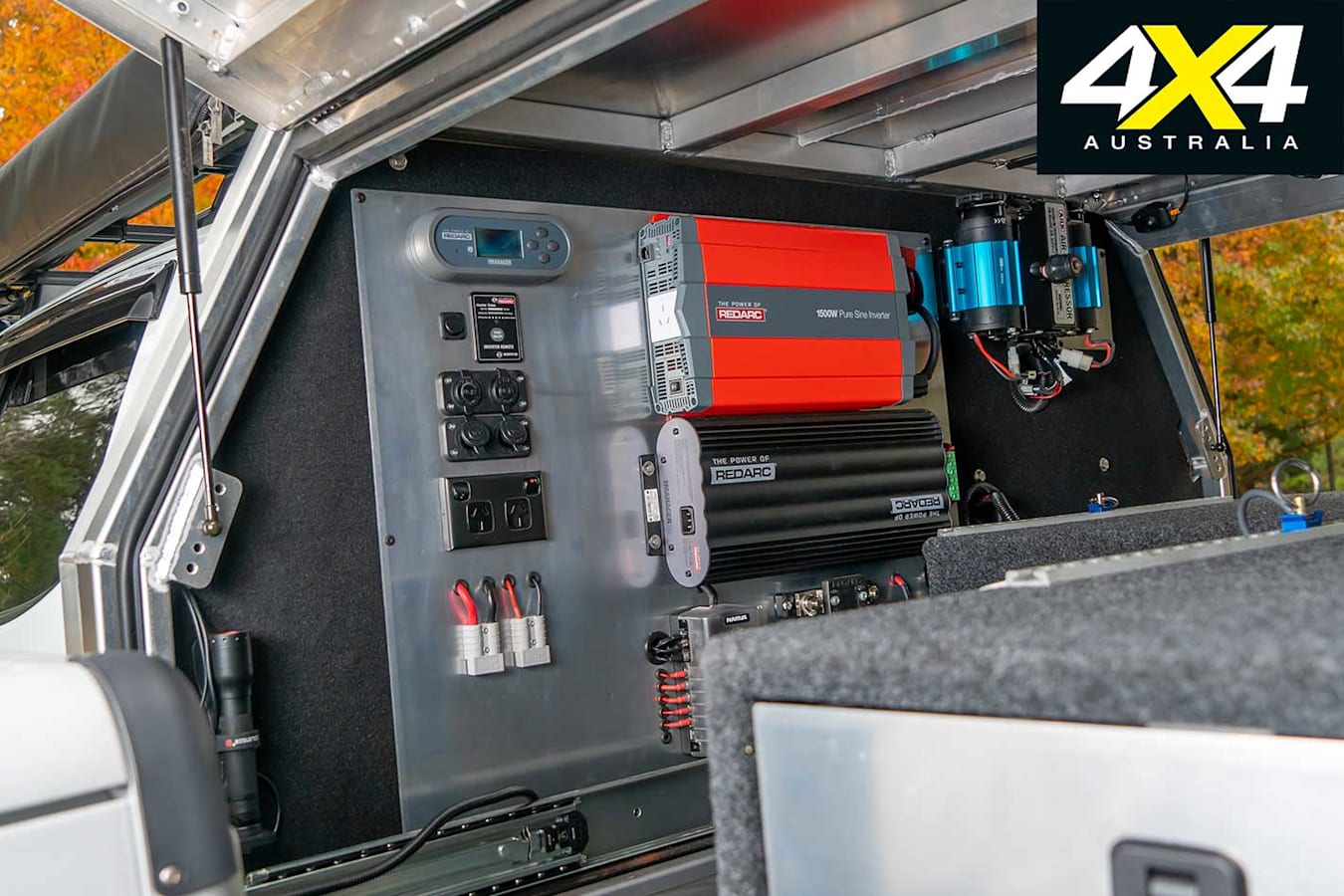 Custom Isuzu D Max Electricals Jpg