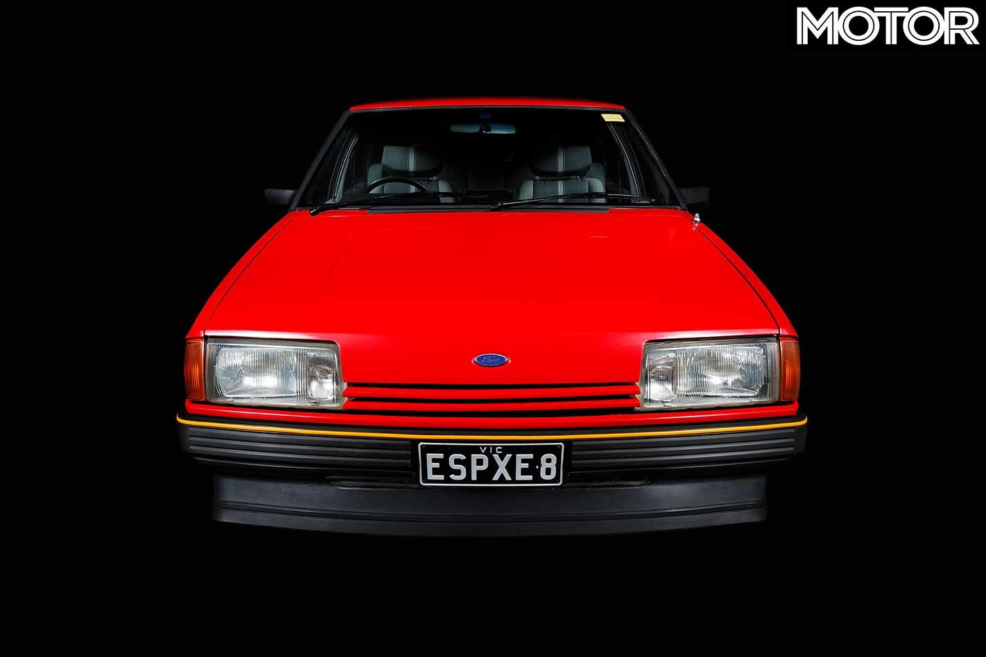 1982 Ford Falcon XE ESP Front Headlights Jpg